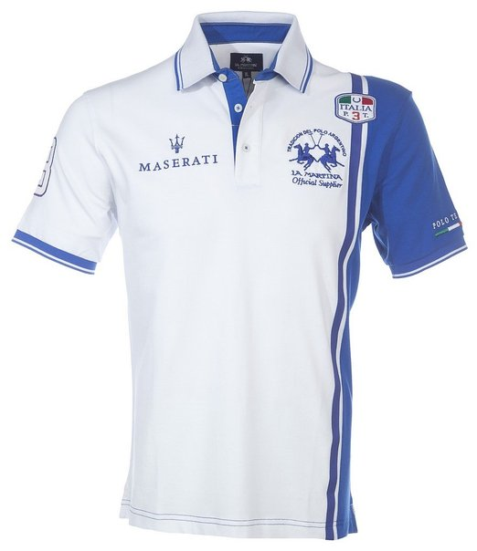 maserati la martina polo shirt the boutique by ferrari ft lauderdale. Black Bedroom Furniture Sets. Home Design Ideas